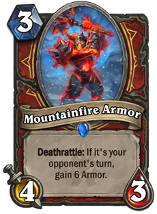 戰士手下:Mountainfire Armor