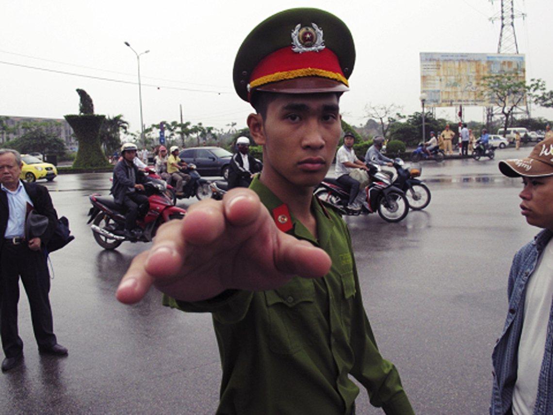 資料圖片:接二連三的重手處理,也象徵著越南政府對民間開放的忌憚與緊縮。 圖/美聯...