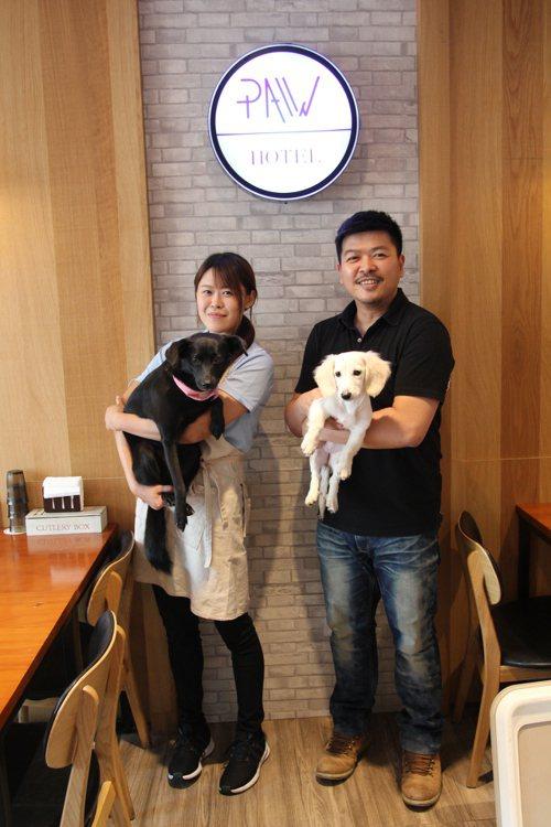 105年動物友善空間-跑飯店提供場地舉辦寵物外出禮儀課程。 圖/有故事提供
