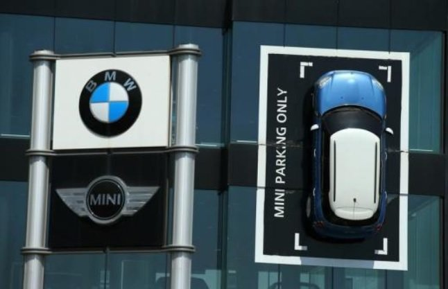 MINI為BMW集團旗下的其一汽車品牌。 摘自Reuters