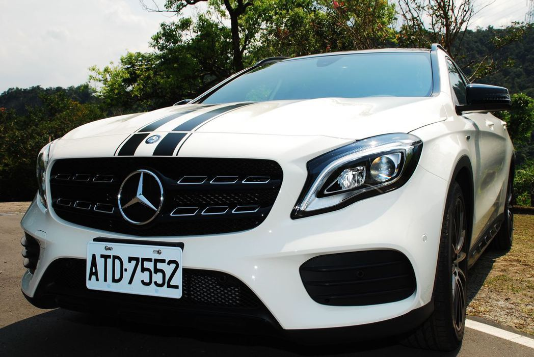 Mercedes-Benz GLA200。記者林昱丞/攝影