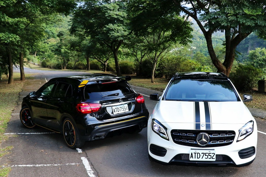 Mercedes-AMG GLA45 & GLA200 記者陳威任/攝影