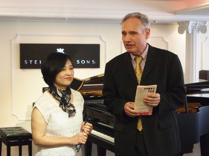 台灣鋼琴家葉綠娜與魏樂富夫妻兩人曾於2014年舉辦「青春貝多芬35首鋼琴奏鳴曲音...