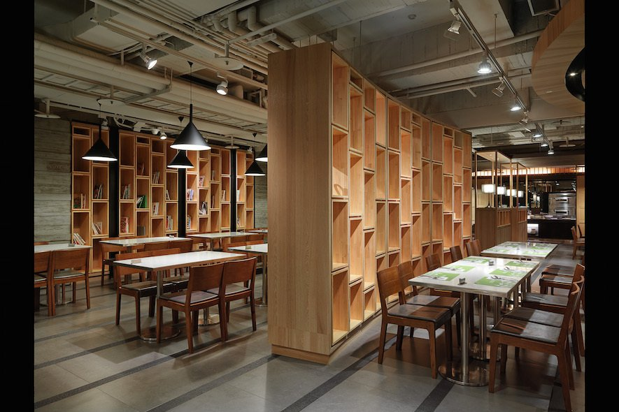 (圖)《果然匯蔬食宴》打造圖書館風格概念