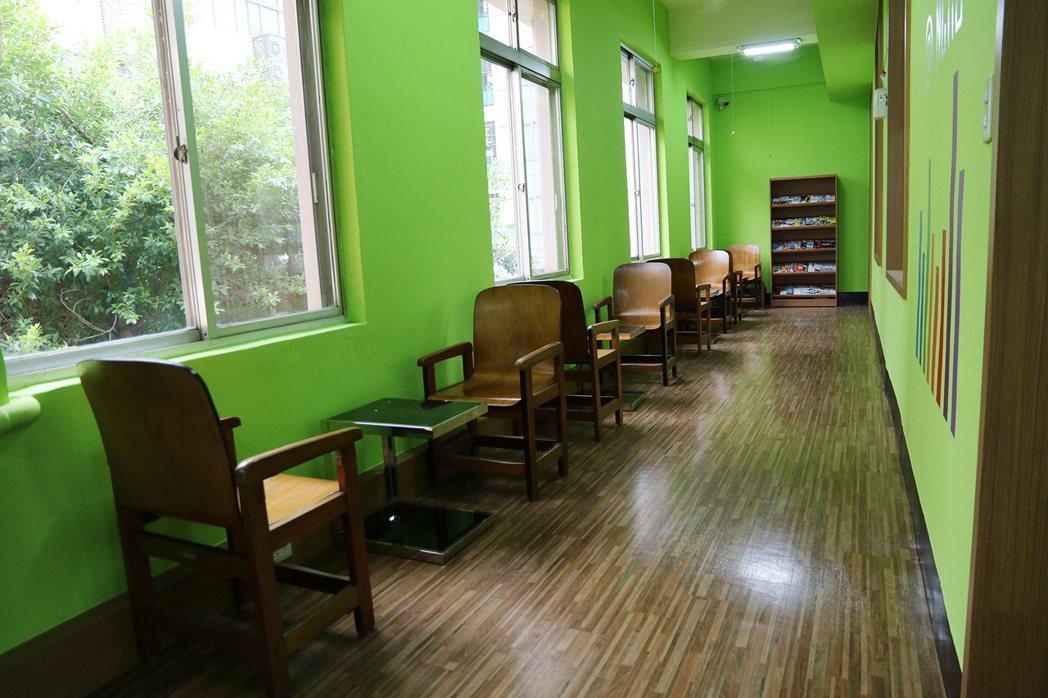 中興大學改造老舊校舍為「興創基地」,想創業的學生可申請使用。 記者喻文玟/攝影