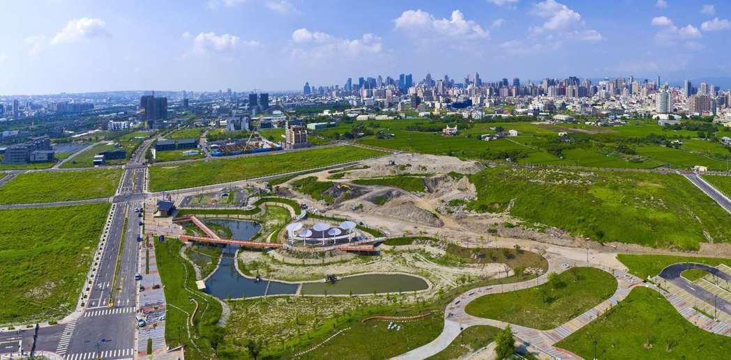 台中市單元二重劃區訴求高綠覆率、生活環境優。聯合報系資料照/記者宋健生攝影