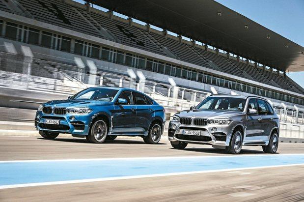 全新配備升級BMW X5 M、BMW X6 M。 圖/汎德提供