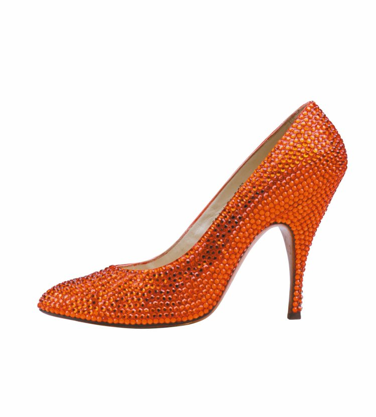 Ferragamo為瑪麗蓮夢露所設計的高跟鞋。 圖/Ferragamo提供
