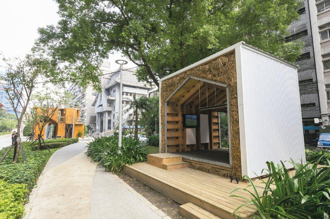 忠泰在周邊街區也設置不少藝術品。 圖/陳立凱攝影、忠泰美術館提供