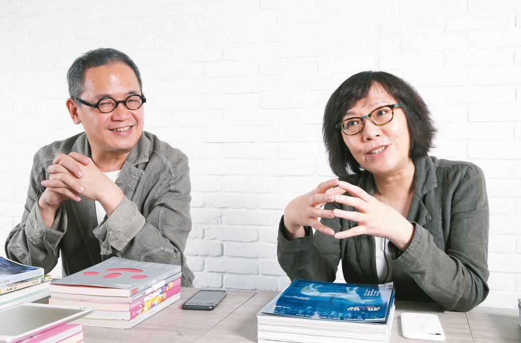 富藝旅建築師,郭旭原、黃惠美夫妻。 記者許正宏/攝影