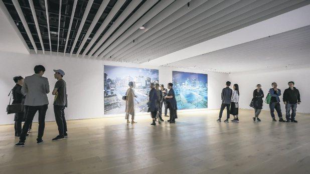 忠泰美術館的展覽「不存在的地方」。 圖/陳立凱攝影、忠泰美術館提供