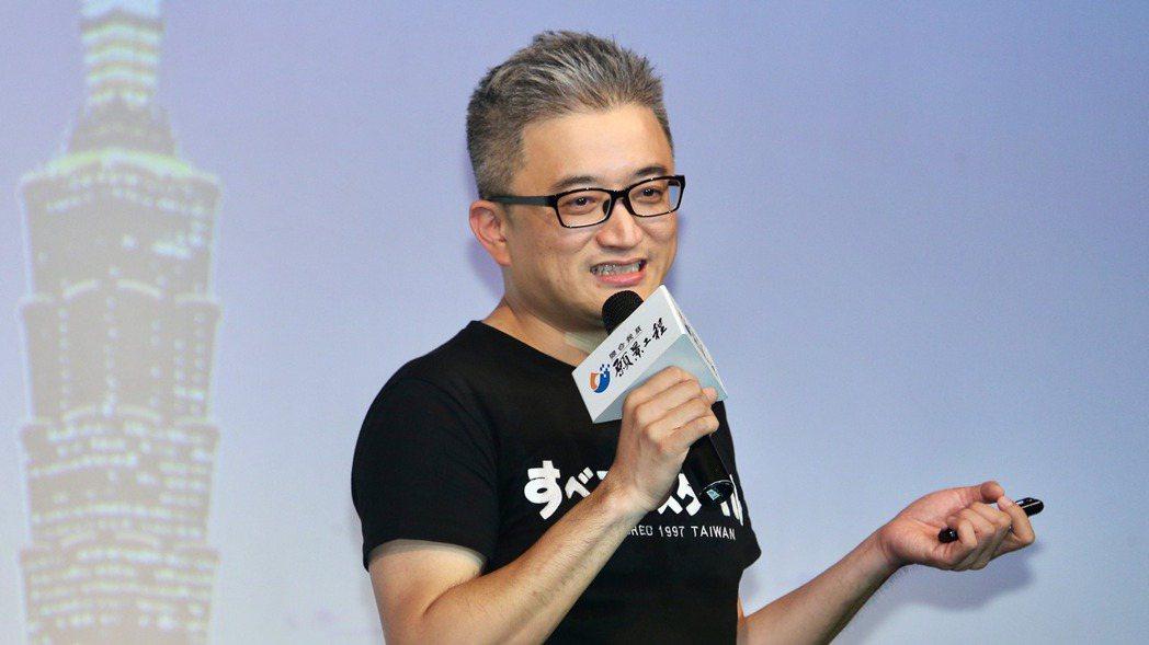 台灣AI實驗室創始人杜奕瑾。 記者林伯東/攝影