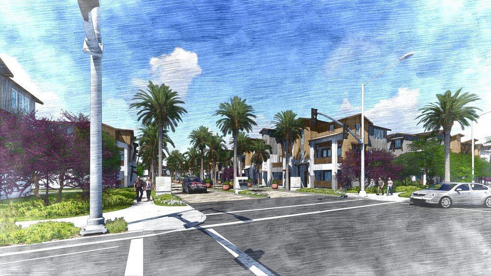 圖為Day Creek Square藍圖。(市府提供)