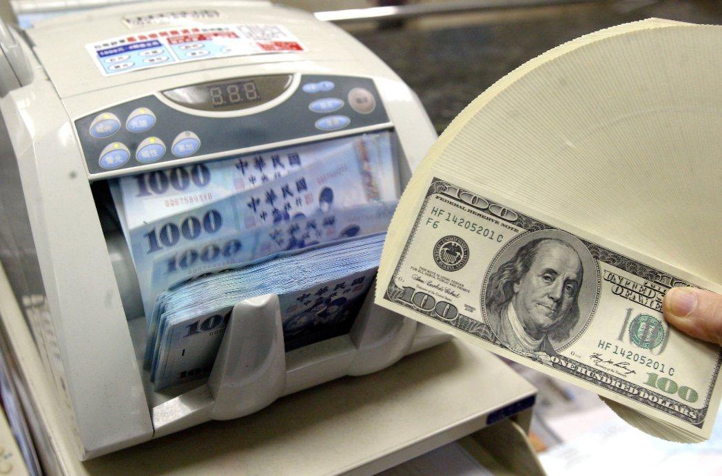 新台幣勁揚1.5角 創逾一個月新高價