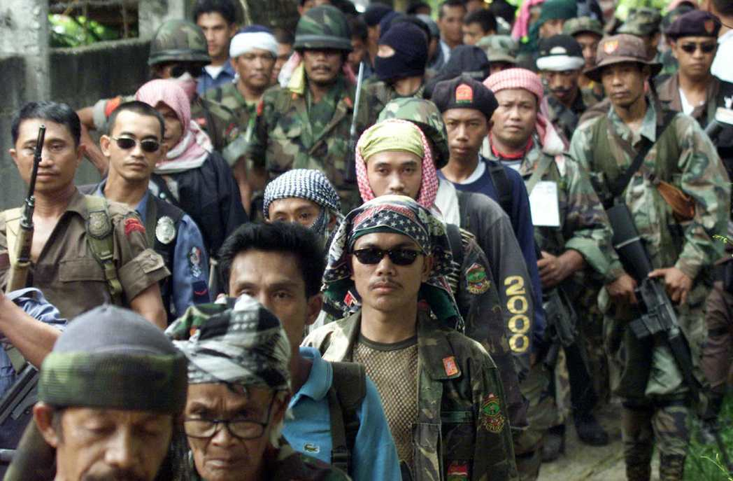 莫洛民族解放陣線(Moro National Liberation Front,MNLF)。 圖/美聯社