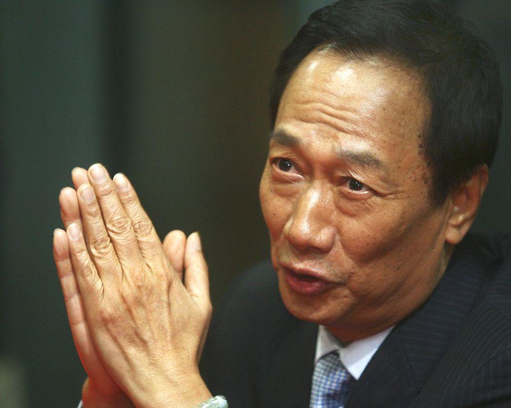 鴻海總裁郭台銘投資100億美元在威州設面板廠。 報系資料照