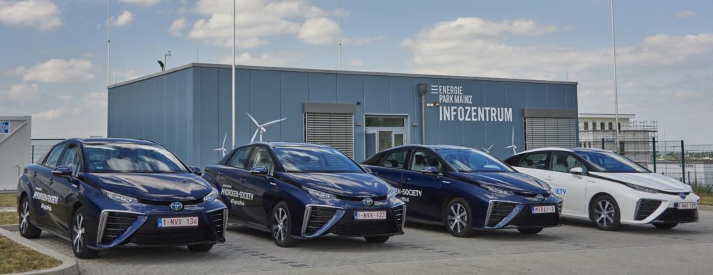 Toyota也研發氫氣車。 摘自Toyota