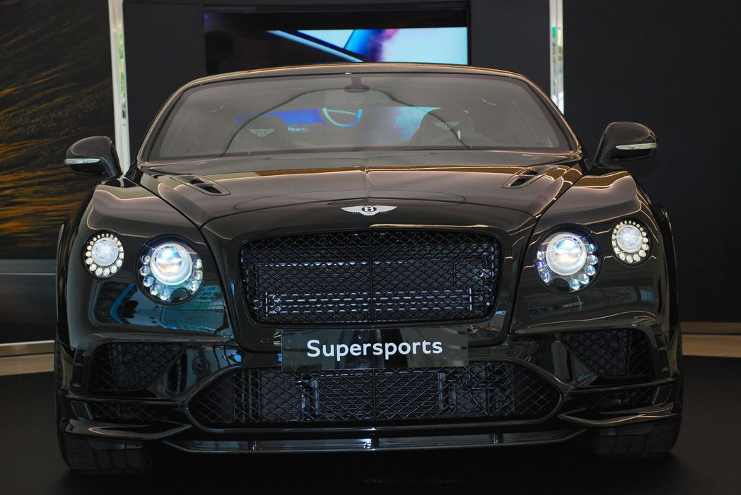 Bentley Continental Supersports。記者林昱丞/攝影