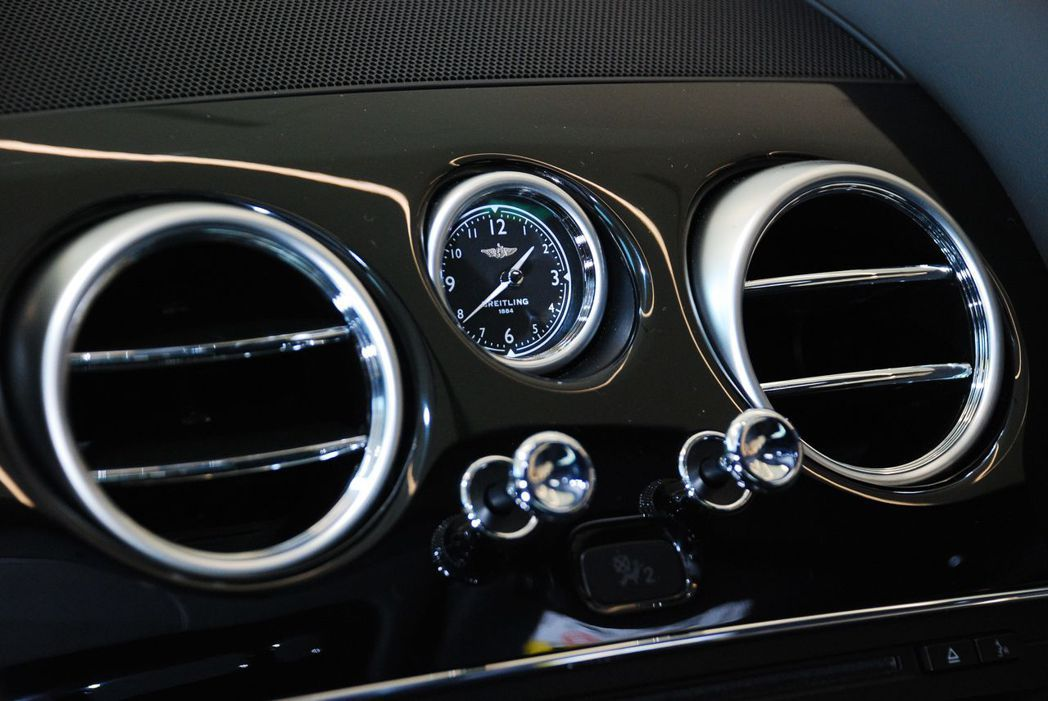 Bentley Continental Supersports內裝。記者林昱丞/...