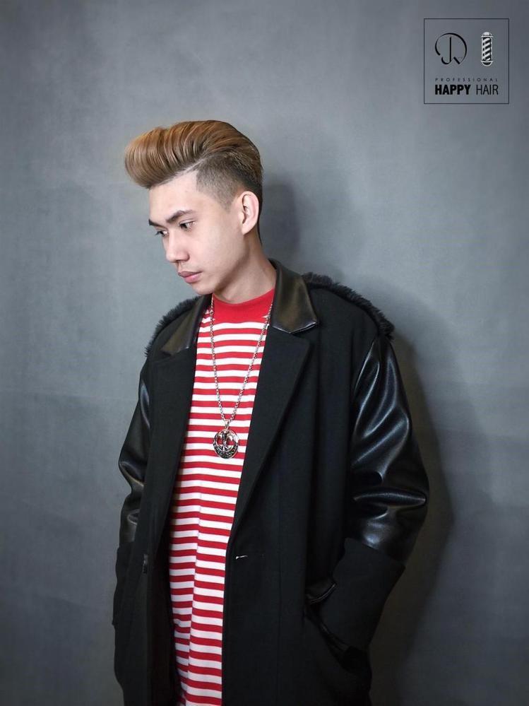髮型創作/HAPPYHAIR台中精誠旗艦店 - 健智 。圖/HairMap美髮地...