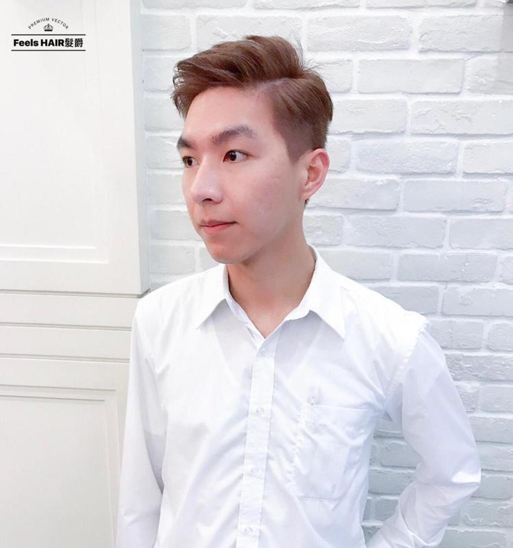 髮型創作/ Feels HAIR 髮爵 - Danny Tsai 。圖/Hair...
