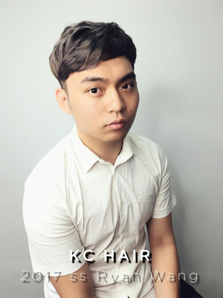髮型創作/肯尼髮藝KC-hair - Ryan Wang。圖/HairMap美髮...