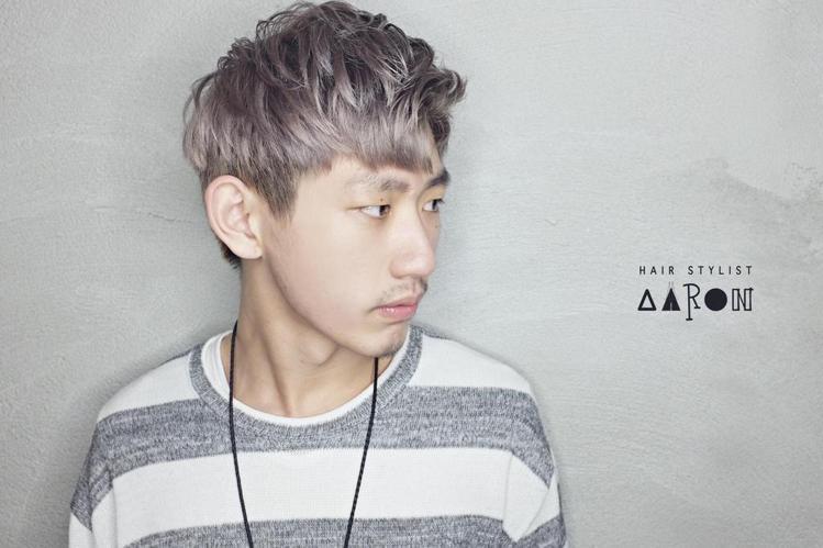 髮型創作/加慕秀Hair salon 時尚館 - Aaron (艾倫)。圖/Ha...