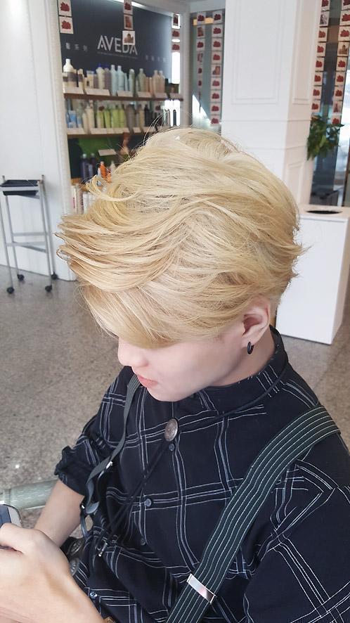 髮型創作/ DOS Hair Salon(玥汰髮藝) - A-SA 。圖/Hai...