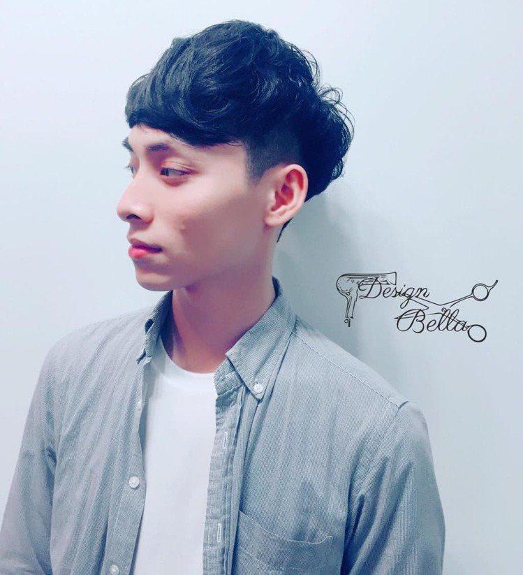 髮型創作/諾亞藝術造型新莊一館 - Bella Chin 。圖/HairMap美...
