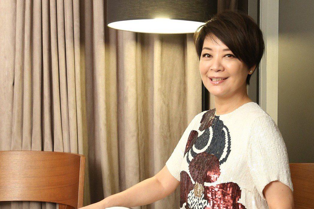 金燕玲為了「一一」返台宣傳。記者陳立凱/攝影
