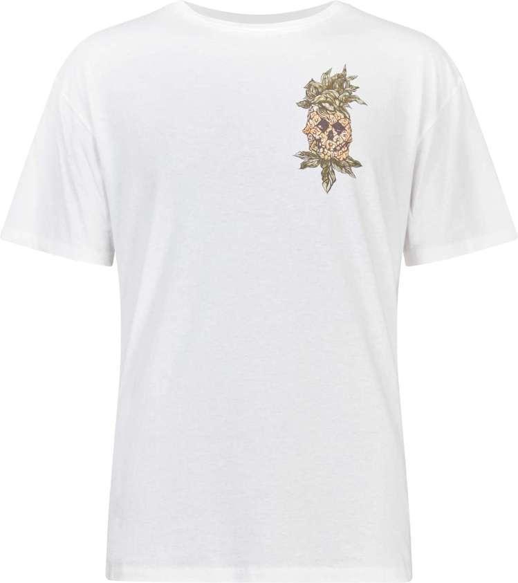 AllSanits白色鳳梨塗鴉T恤,約2,400元。圖/AllSanits提供