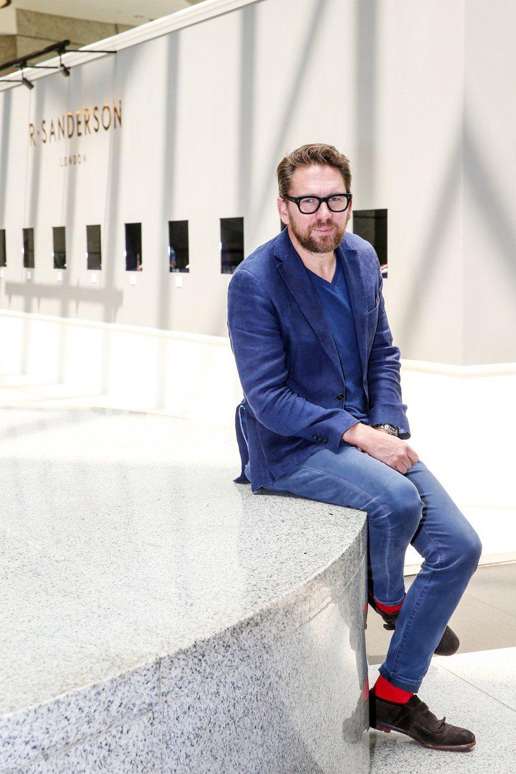R • SANDERSON設計師Rupert Sanderson來台出席旗艦店開...