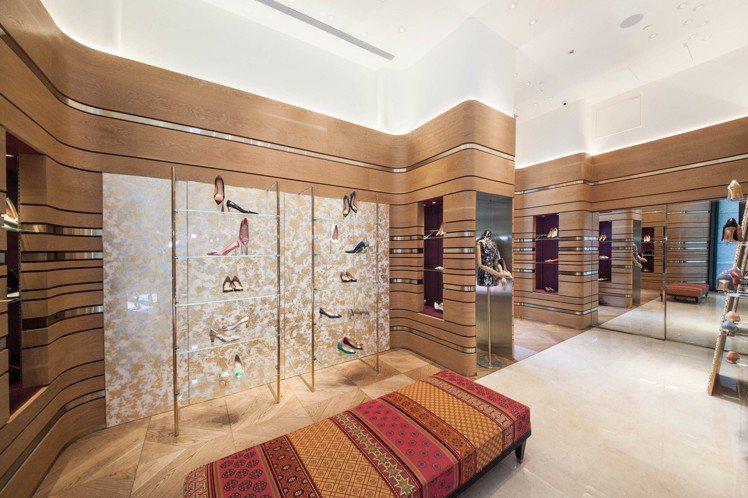 倫敦鞋履R • SANDERSON於台北BELLAVITA開設全台首間旗艦店。圖...
