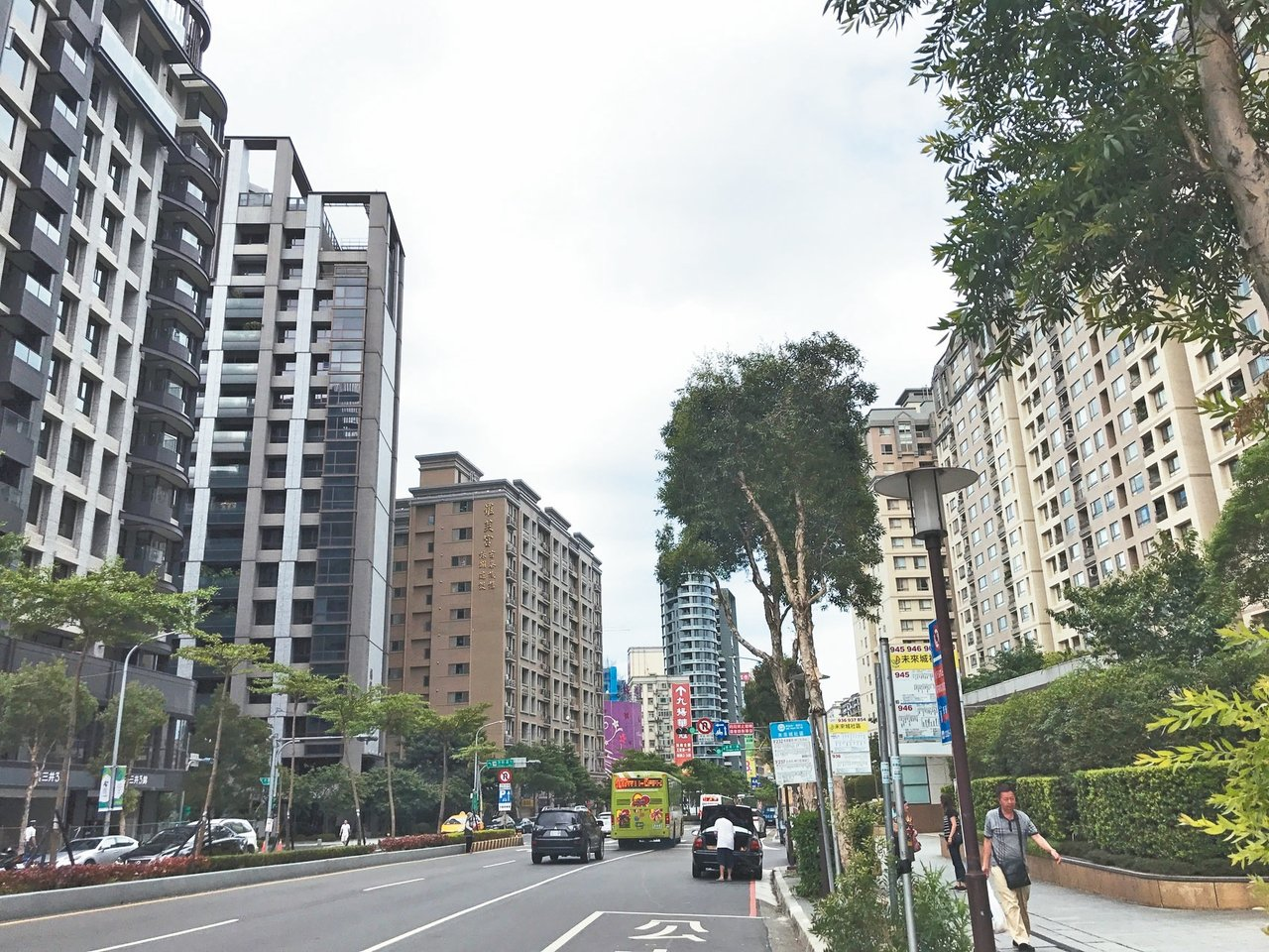 林口站在熱門捷運商圈中名列第五。 記者游智文/攝影