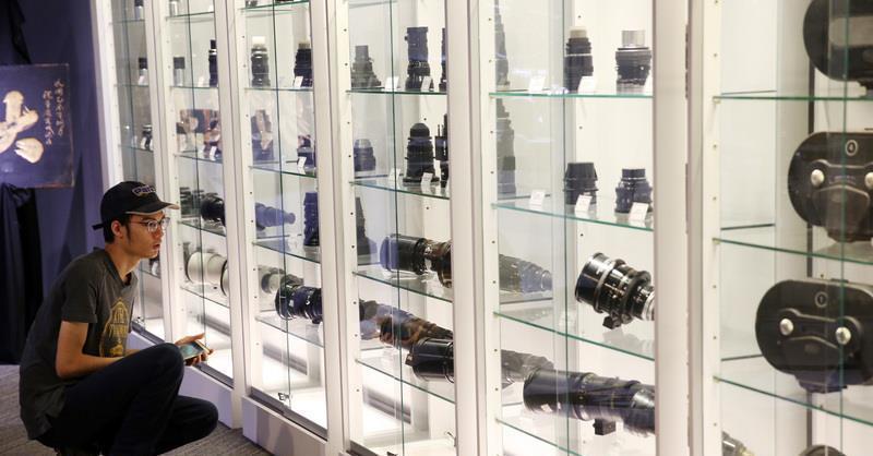 「電影蒐藏家博物館」開幕茶會28日在臺北文創大樓舉行,館藏電影膠片、文件、器材、...
