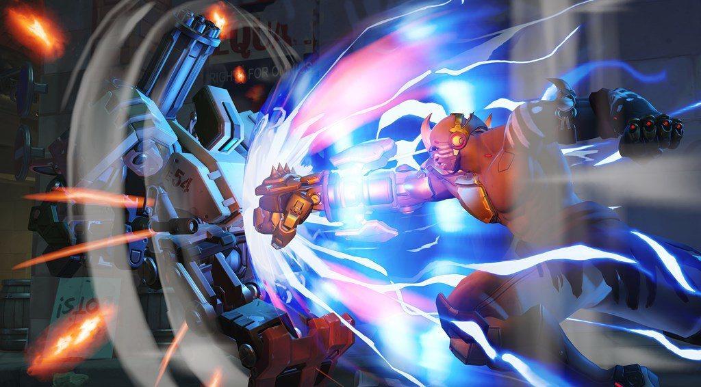 火箭拳 - 蓄力後,會往前衝並擊退敵人,若把敵人撞到牆上,傷害會更高