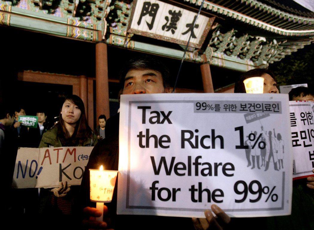 「富人稅」的建議,是要對「超大企業」法人稅從22%提高到25%,把增加出來的稅收...