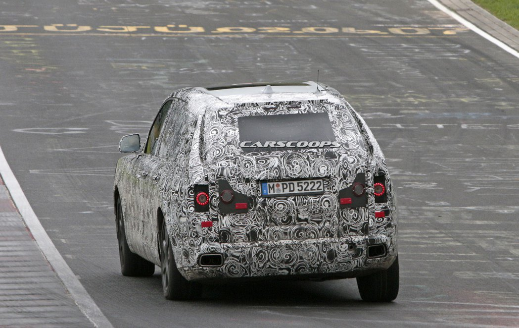 Rolls-Royce Cullinan。圖/摘自carscoops.com