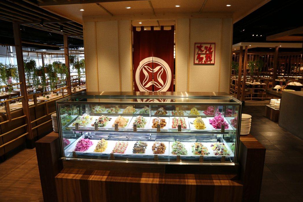欣葉日本料理館前店。圖/欣葉餐飲集團提供