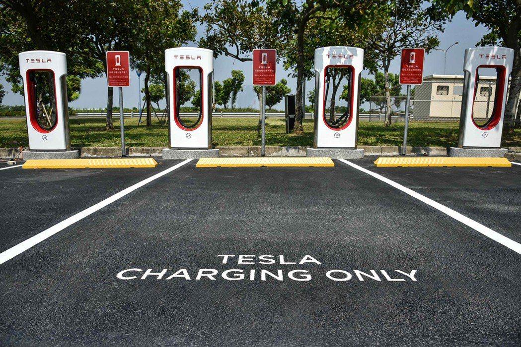 位於台南奇美博物館的第二座 Tesla 超級充電站於日前正式啟用。 Tesla ...