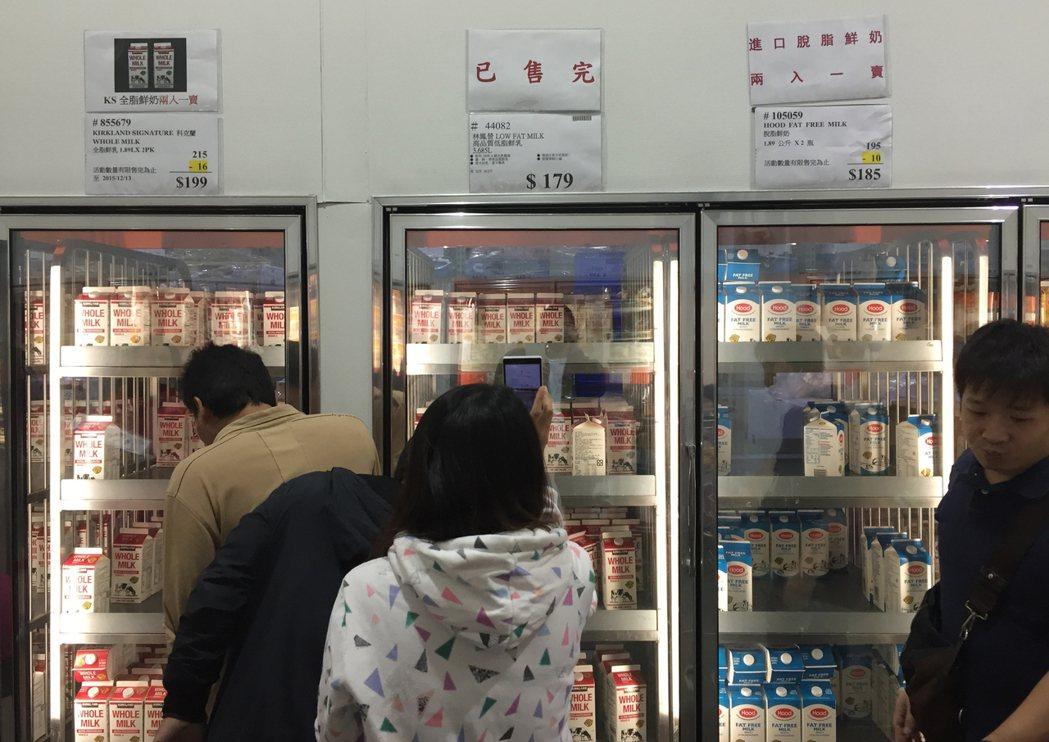 民眾2015年發起「滅頂行動」,在大賣場大批購買林鳳營鮮乳後隨即退貨,秒買秒退的...
