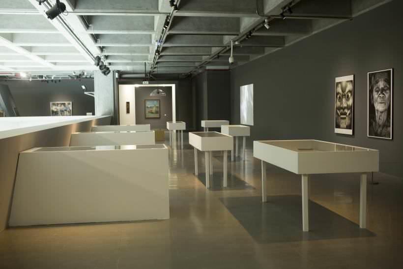 展覽空間一偶。圖/非池中藝術網攝。