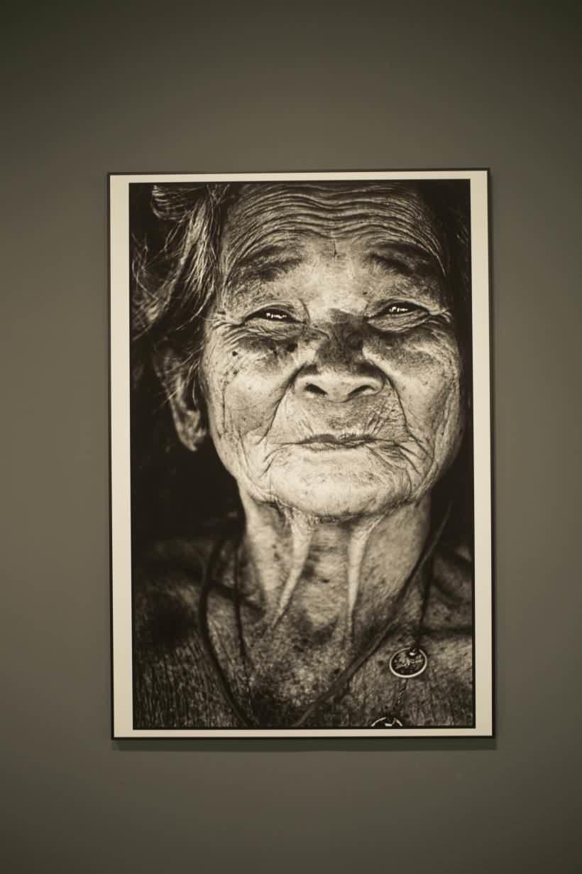 黃永松《婦》,1974。圖/ 非池中藝術網攝。