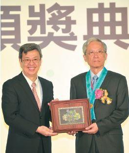 國立清華大學講座教授史欽泰,榮膺工研院院士。 圖片提供/工研院
