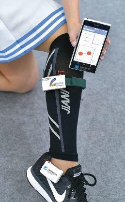 工研院研發的MMG裝置可偵測肌肉活動變化、傾斜程度與足底壓力數據,一旦偵測到風險...