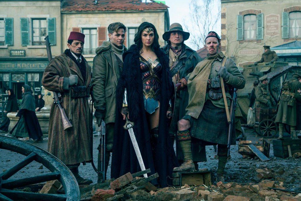 電影公司傳將為「神力女超人」強力造勢,爭取奧斯卡大獎提名。圖/摘自imdb