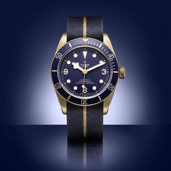 帝舵為歐洲著名鐘表專賣店寶齊萊歡慶130周年所打造的限定款 Black Bay ...