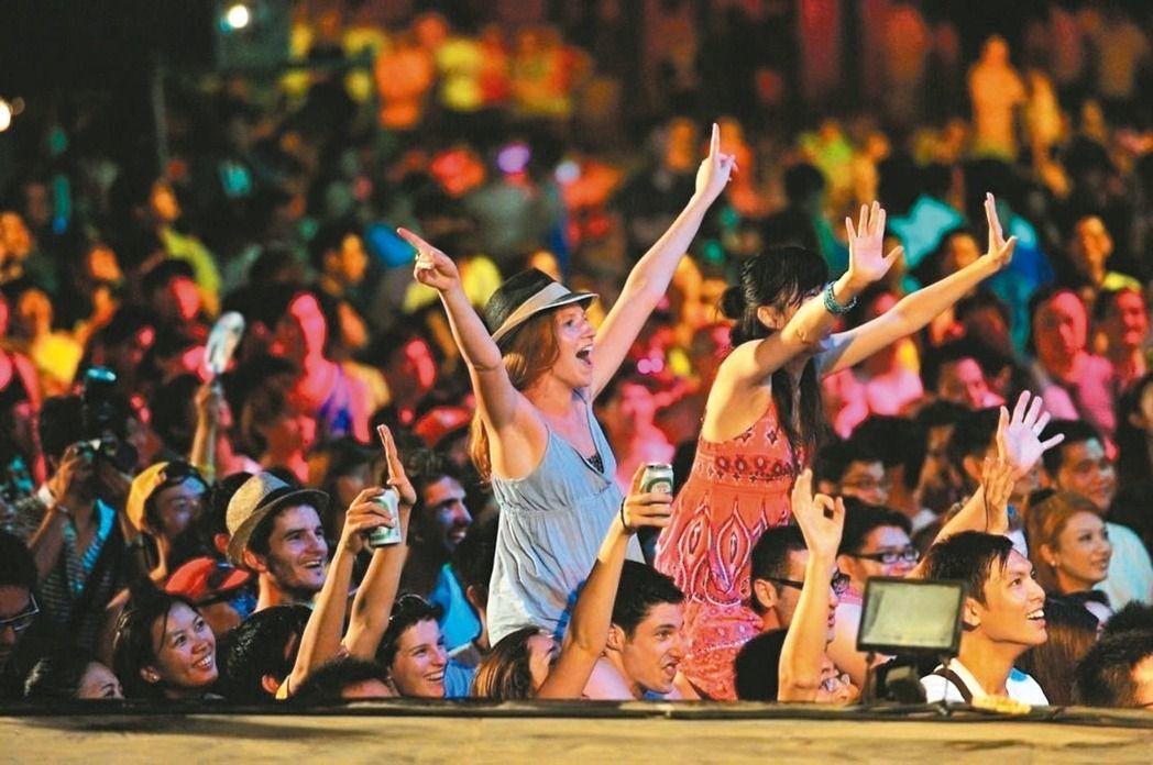 貢寮海洋音樂祭是北台灣一年一度的音樂盛會。 圖/新北觀旅局提供