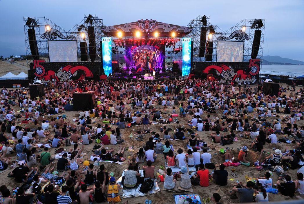 貢寮海洋音樂祭今年邁向第17年。 圖/新北觀旅局提供