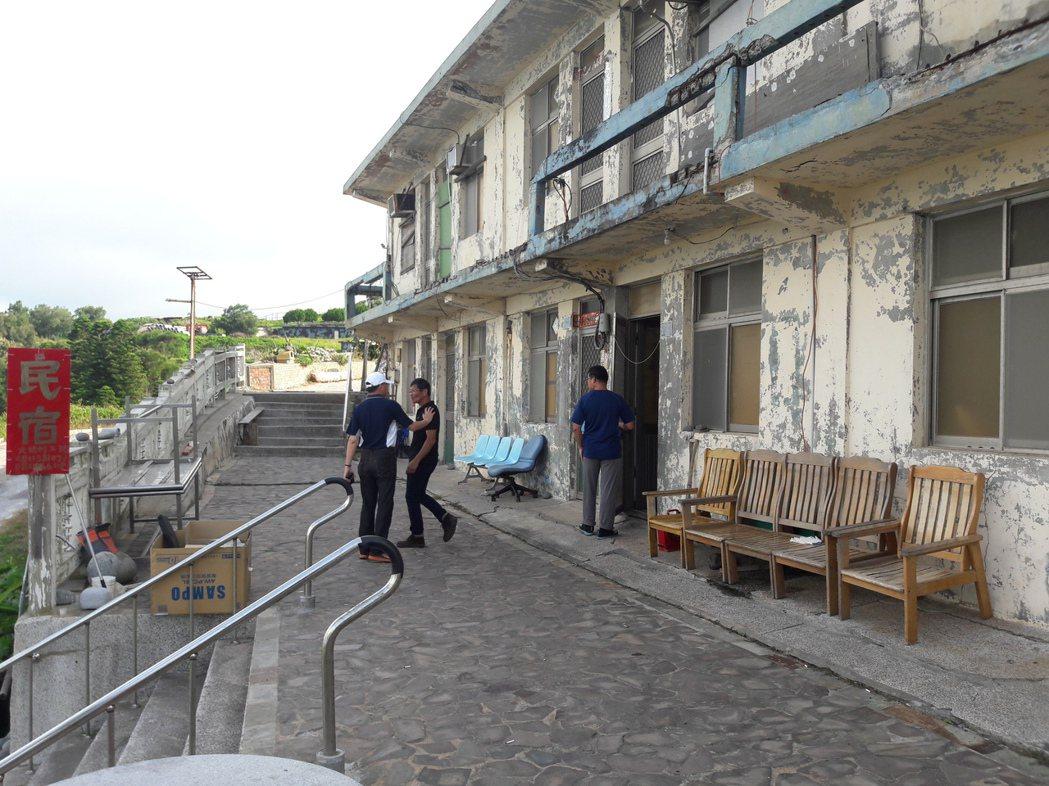 烏坵民宿。 圖/航港局提供
